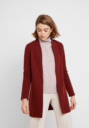 VMBRINE LONG - Manteau court - madder brown