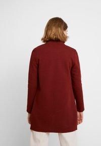 Vero Moda - VMBRINE LONG - Krátký kabát - madder brown - 2