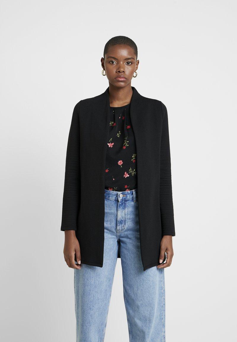 Vero Moda - VMBRINE LONG - Short coat - black