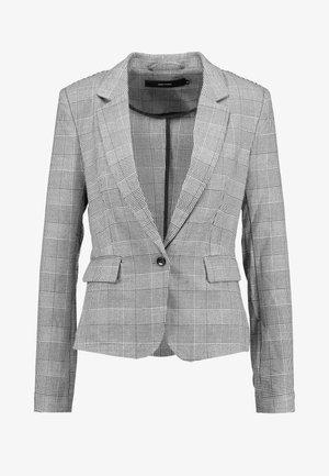 VMJULIANE CHECKED - Blazer - grey/white