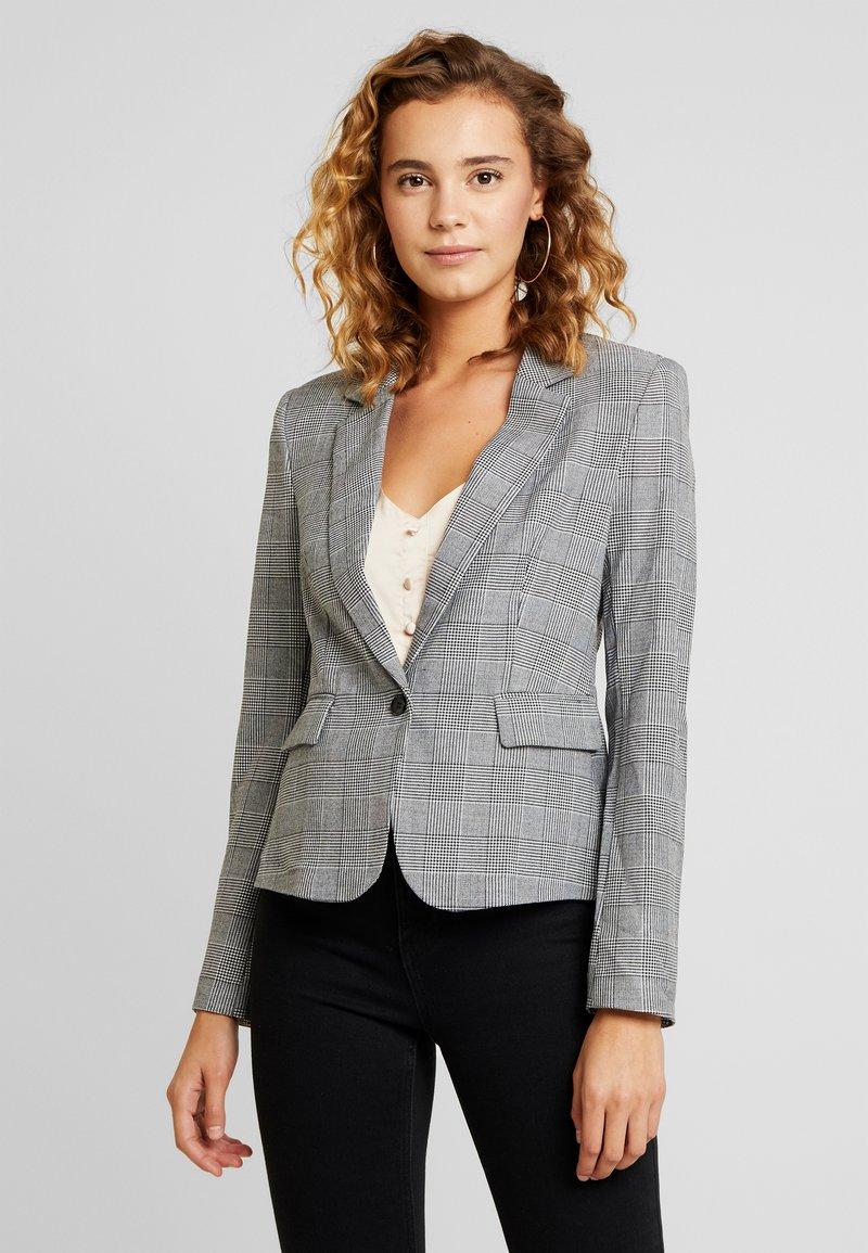 Vero Moda - VMJULIANE CHECKED - Sportovní sako - grey/white