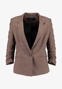 Vero Moda - VMJASMIN CHECK - Blazer - madder brown - 4