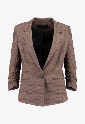 VMJASMIN CHECK - Blazer - madder brown
