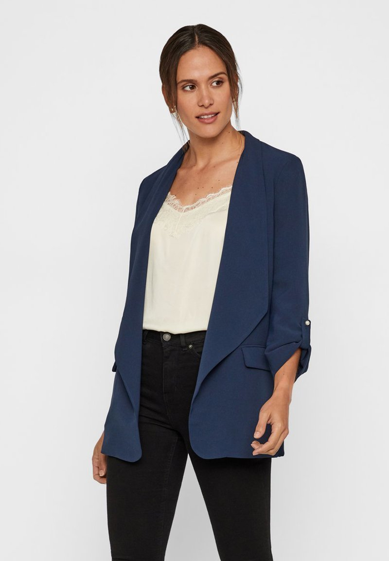 Vero Moda - Kort kappa / rock - navy blazer