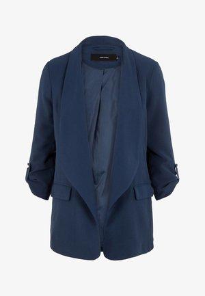 Halflange jas - navy blazer