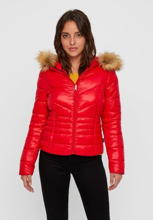 Veste d'hiver - chinese red