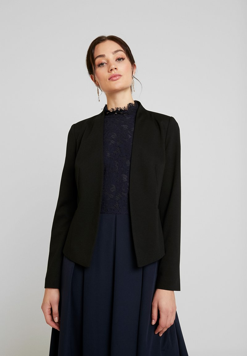 Vero Moda - VMSASIGAIL SHORT - Blazer - black/toka bruschetta