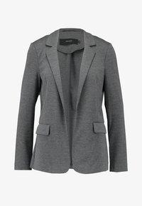 Vero Moda - VMNINA BOX - Blazer - dark grey melange - 5