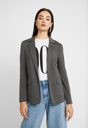 VMNINA BOX - Blazer - dark grey melange