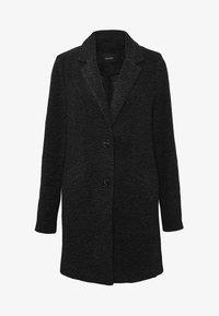 Vero Moda - Short coat - dark grey melange - 4