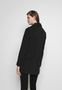 Vero Moda - Short coat - dark grey melange - 2