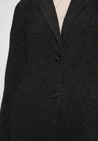 Vero Moda - Kort kåpe / frakk - dark grey melange - 5