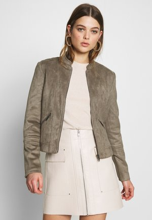 VMSUMMERSIV JACKET - Faux leather jacket - bungee