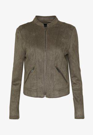 VMSUMMERSIV JACKET - Faux leather jacket - bungee