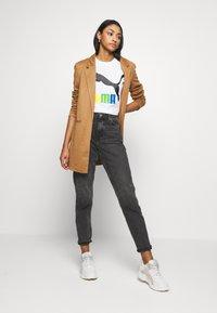 Vero Moda - VMJANEY - Krátký kabát - tobacco brown melange - 1