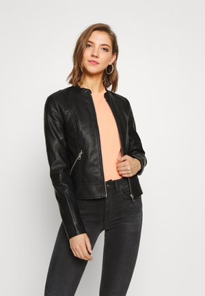 VMRIAMARTA  - Faux leather jacket - black