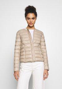 Vero Moda - SHORT JACKET BOOS - Light jacket - silver mink - 0