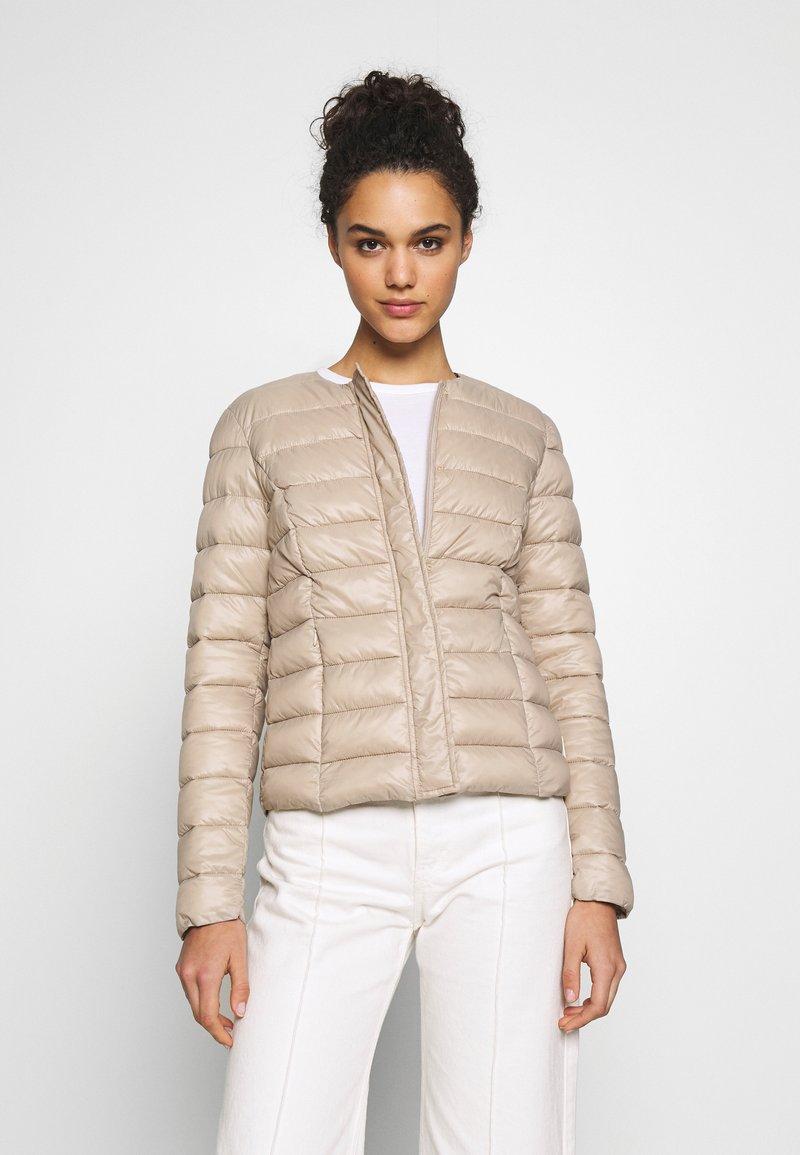 Vero Moda - SHORT JACKET BOOS - Light jacket - silver mink