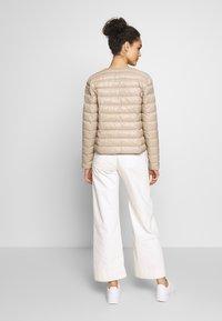 Vero Moda - SHORT JACKET BOOS - Light jacket - silver mink - 2