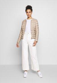 Vero Moda - SHORT JACKET BOOS - Light jacket - silver mink - 1