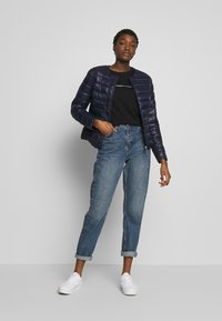 Vero Moda - SHORT JACKET BOOS - Light jacket - night sky - 1
