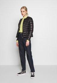 Vero Moda - SHORT JACKET BOOS - Light jacket - black - 1