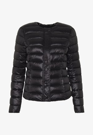 SHORT JACKET BOOS - Light jacket - black