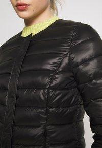Vero Moda - SHORT JACKET BOOS - Light jacket - black - 5