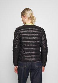 Vero Moda - SHORT JACKET BOOS - Light jacket - black - 2