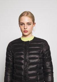 Vero Moda - SHORT JACKET BOOS - Light jacket - black - 3