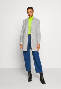 Vero Moda - VMBRUSHEDKATRINE  - Short coat - light grey melange - 1