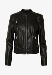 Vero Moda - VMBUTTERYOU  - Faux leather jacket - black - 3