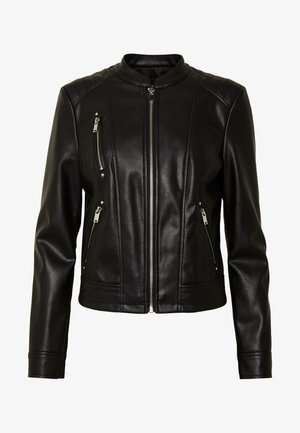 VMBUTTERYOU  - Faux leather jacket - black