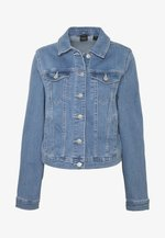 VMULRIKKA JACKET MIX  - Kurtka jeansowa - light blue denim