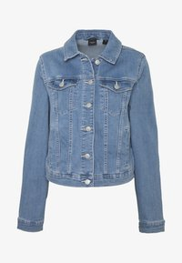 Vero Moda - VMULRIKKA JACKET MIX  - Denim jacket - light blue denim - 3