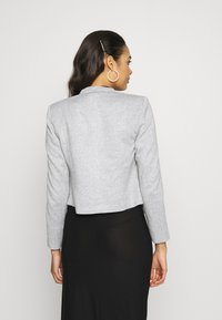 Vero Moda - VMJANEY SHORT - Blazer - light grey melange - 2
