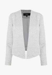 Vero Moda - VMJANEY SHORT - Blazer - light grey melange - 4
