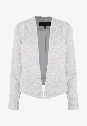 VMJANEY SHORT - Blazer - light grey melange