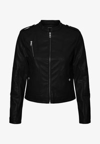 Vero Moda - Faux leather jacket - black - 4