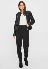 Vero Moda - Faux leather jacket - black - 1