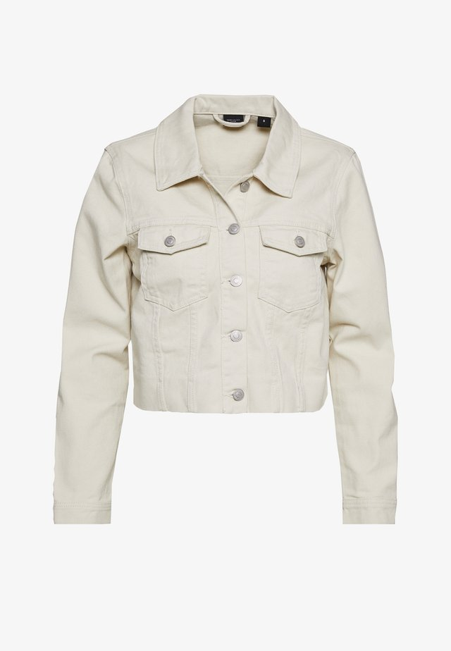 VMMIKKY CROPPED JACKET - Jeansjacka - birch