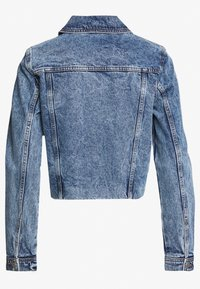 Vero Moda - VMMIKKY CROPPED JACKET  - Kurtka jeansowa - light blue denim - 1