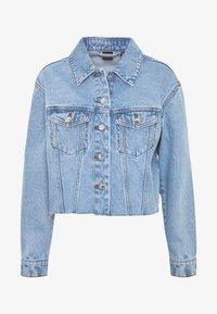 Vero Moda - VMKATRINA CROP JACKET - Denim jacket - light blue denim - 4