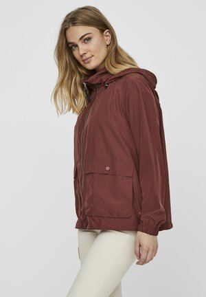 JACKE KAPUZEN - Light jacket - sable