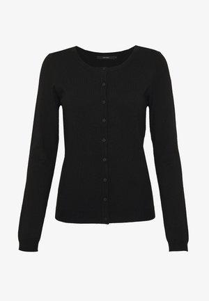 VMGLORY VIPE LS O-NECK CARDIGAN COL - Cardigan - black