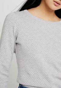 Vero Moda - Strickpullover - light grey melange - 4