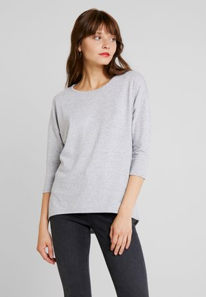 VMMALENA - Strickpullover - light grey melange