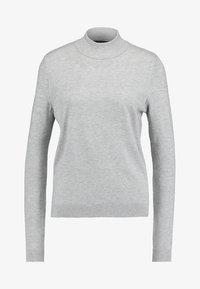 Vero Moda - VMKARIS HIGHNECK - Jumper - light grey melange - 3