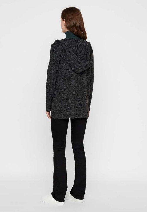 Vero Moda Kardigan - black Odzież Damska KQPJ-PP9 dobry