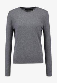 Vero Moda - VMMILDA O NECK  - Neule - medium grey melange - 4